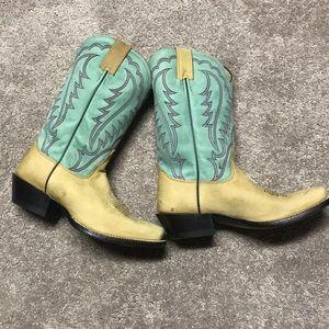 Authentic Nocona Women's Cowboy Boots Sz 8B